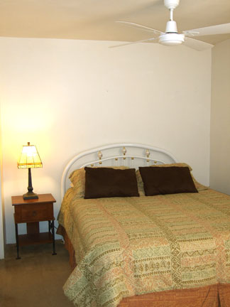 203 queen bed - Gym Club Suites, Bisbee Arizona Hotels
