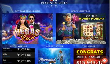 Platinum Reels Casino Instant Play